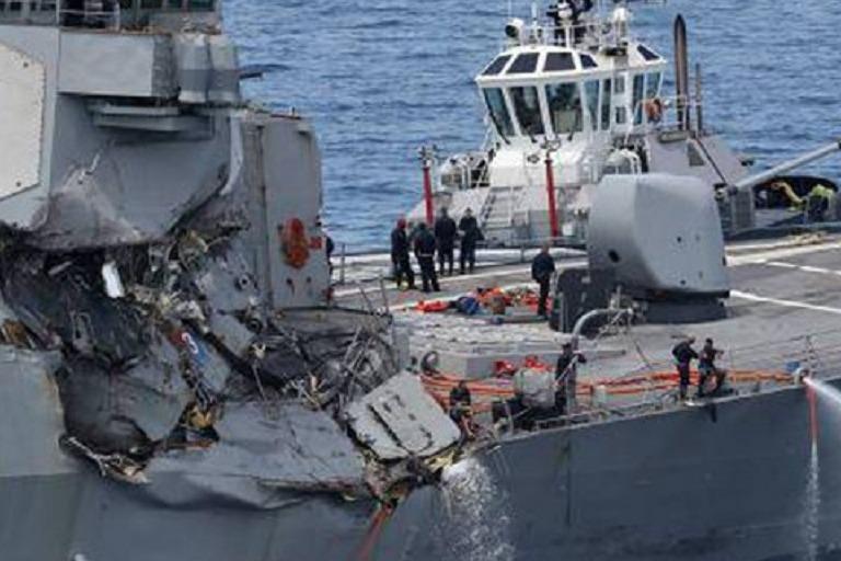 美军舰在我国附近出事,47名士兵伤亡现场惨烈,美国咬死赔偿20亿