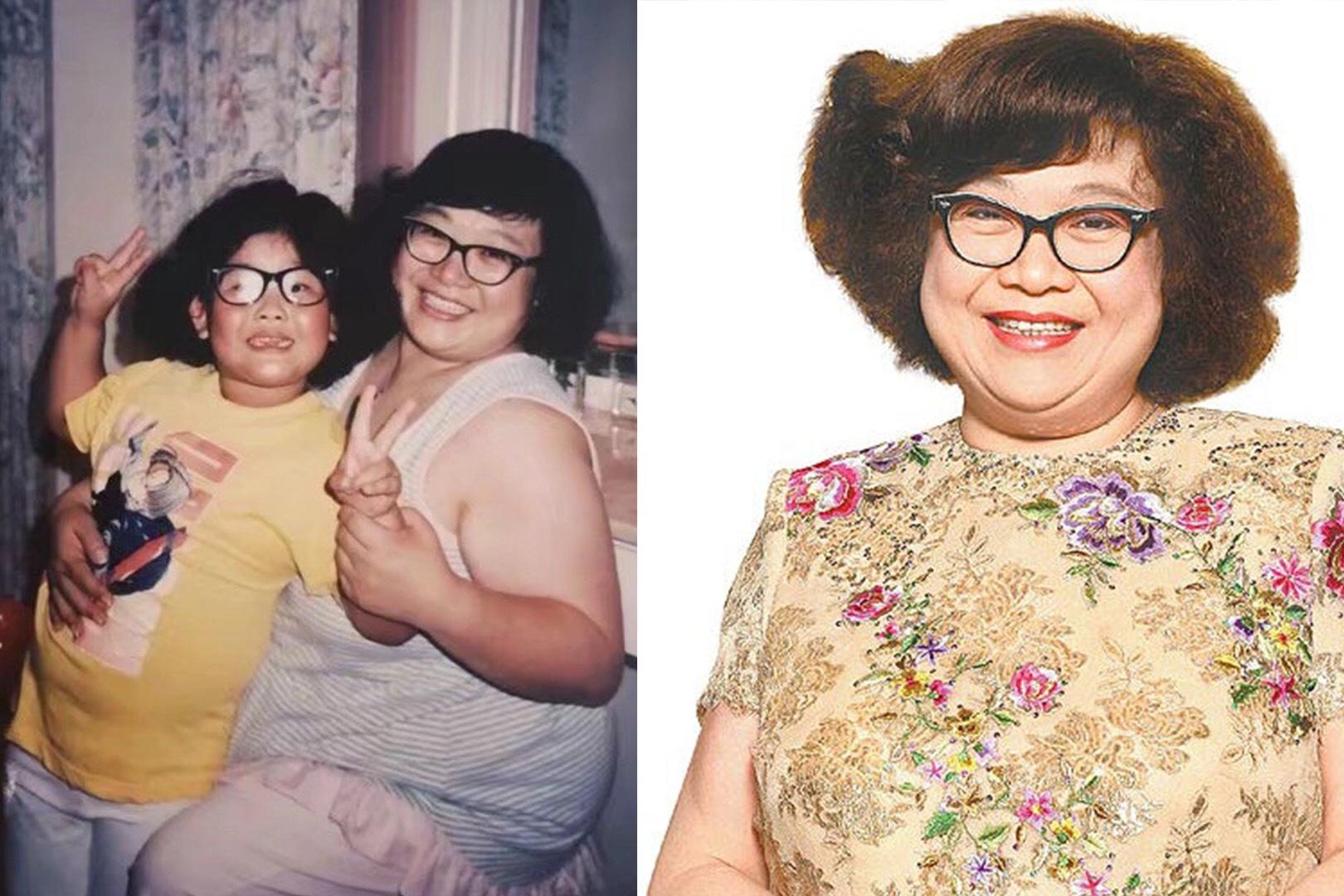 情深意切!肥姐沈殿霞逝世12年,郑欣宜发长文悼念母亲