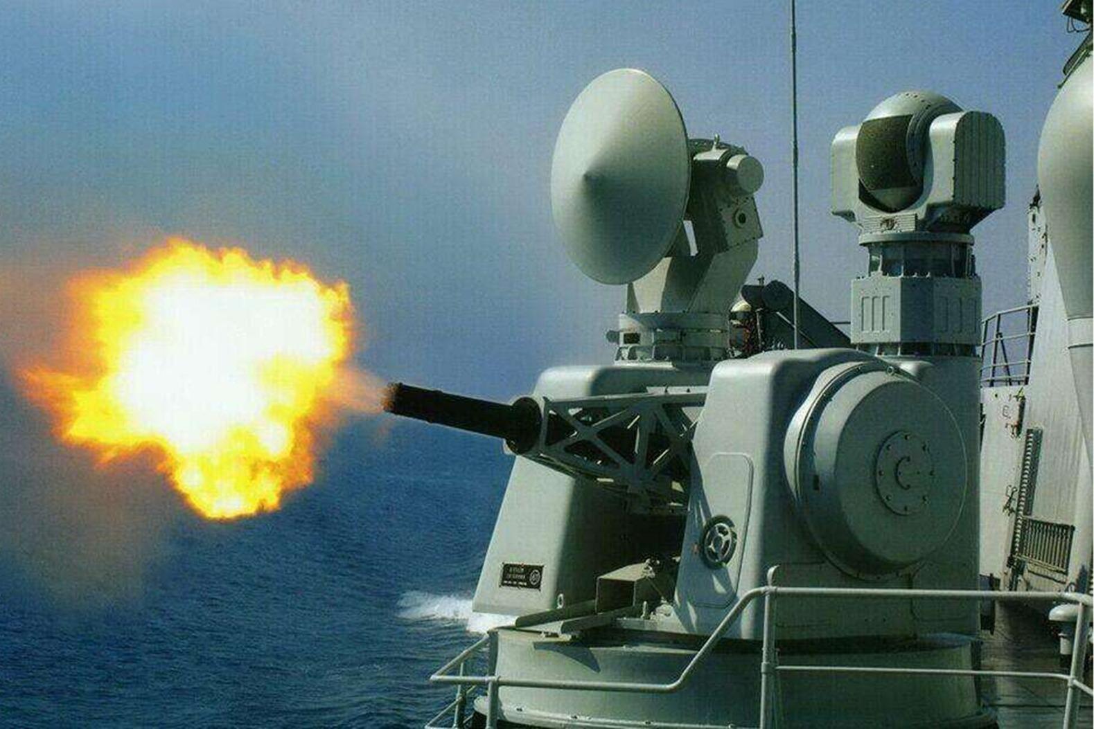 我国研制的730近防系统 综合作战能力超过美国密集阵系统