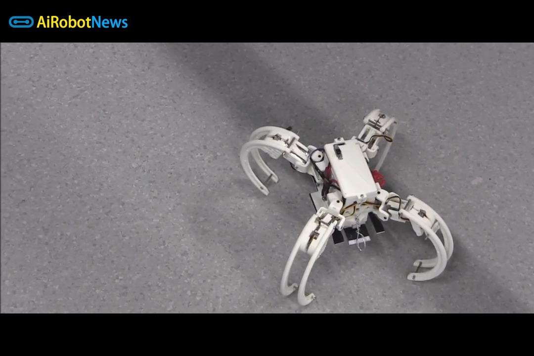 天蝎座:仿生可自主重组机器人