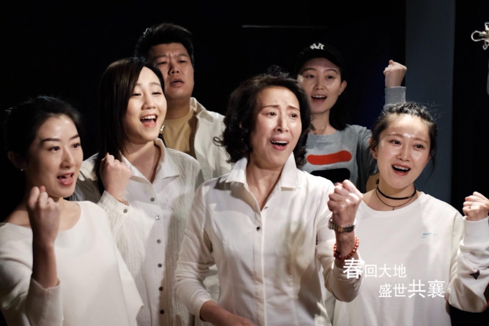 传递力量 大连民办教育界 唱响公益歌曲《中国必胜》