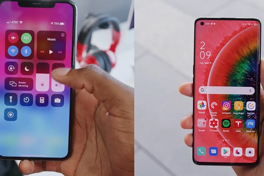同为DisplayMate A+评级,这两块手机屏幕区别居然这么大?