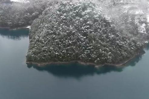 美哭!文县天池如画雪景登陆央视