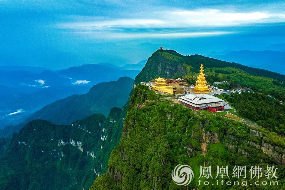 这个角度下的佛教四大名山 你可能从未见过