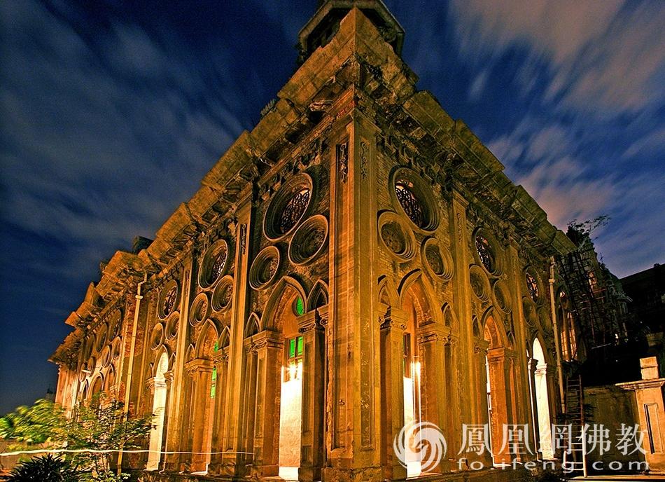 汉口古德寺:武汉最有特点的一座寺庙 国内罕见