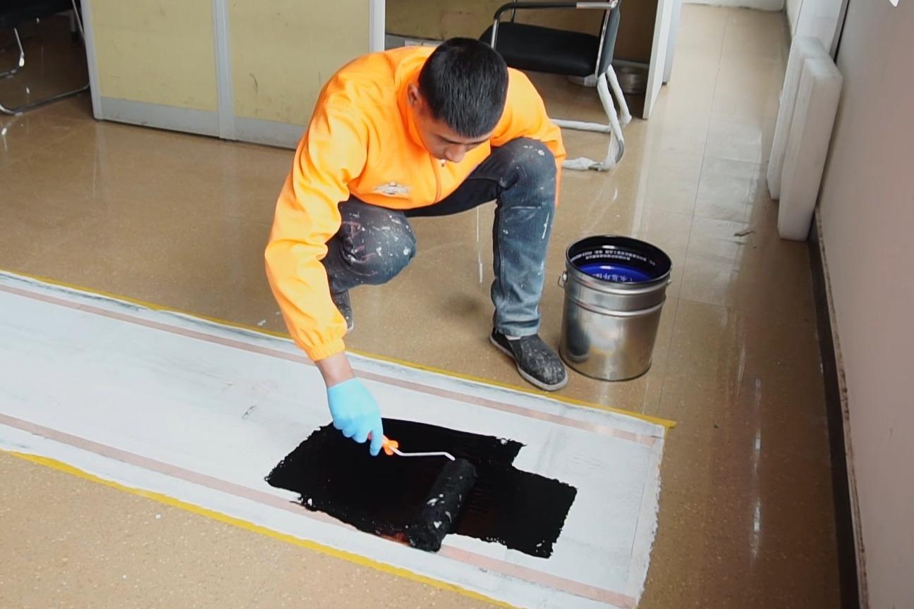 刷出来的温暖—壹涂碳纤维发热涂料贴网格布