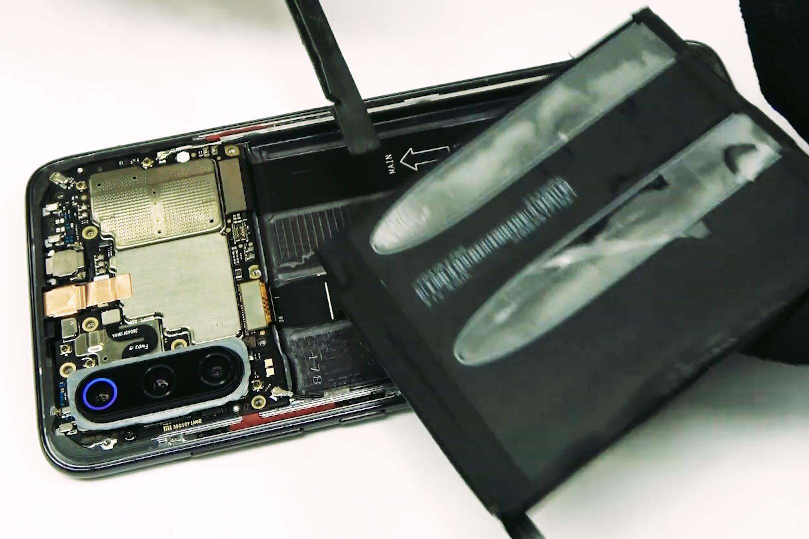 小米9电池更换