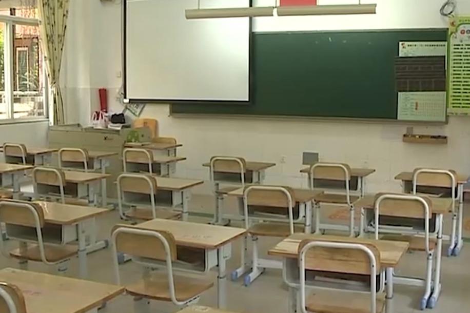 中山:小学四到六年级将于5月18日复学,每间教室后方设两洗手池