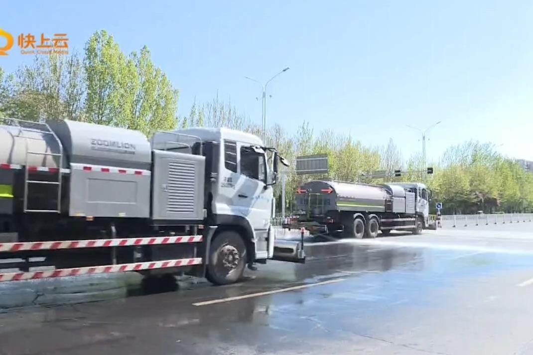 潍坊市多措并举严控扬尘污染