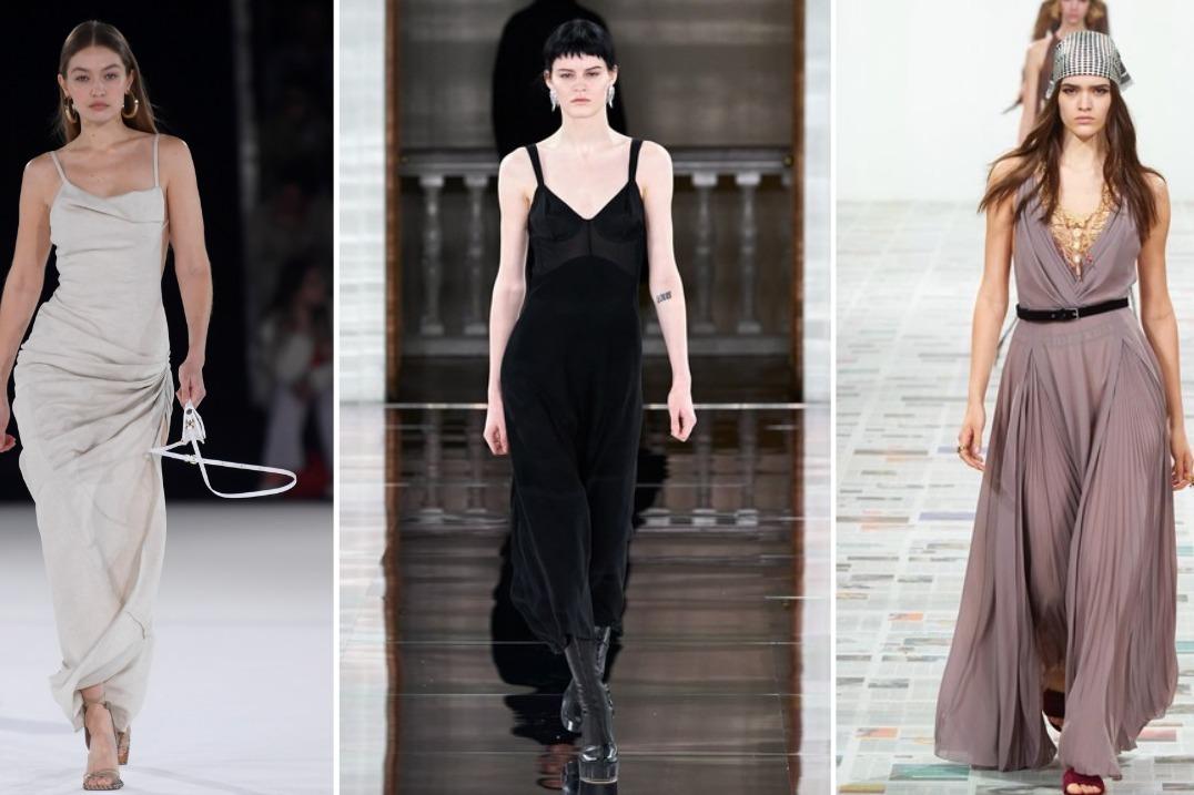 2020秀场时尚新趋势 舒适后现代主义裙装 展现优雅女神魅力
