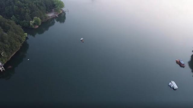 江西浮梁:晨光中的玉田湖秀美如画