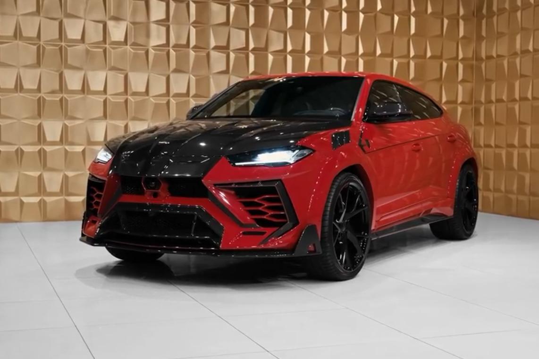 每天一款神仙车丨红黑配色 全身碳纤维,Monsory改装兰博基尼urus