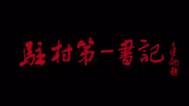 电影宣传片:《驻村第一书记》