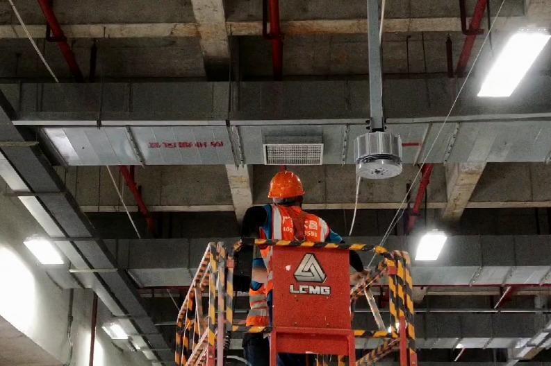 东莞工业大风扇 车间工业风扇安装实例