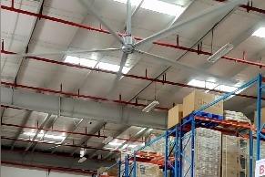 东莞工业大风扇 大型车间工业大风扇安装实例