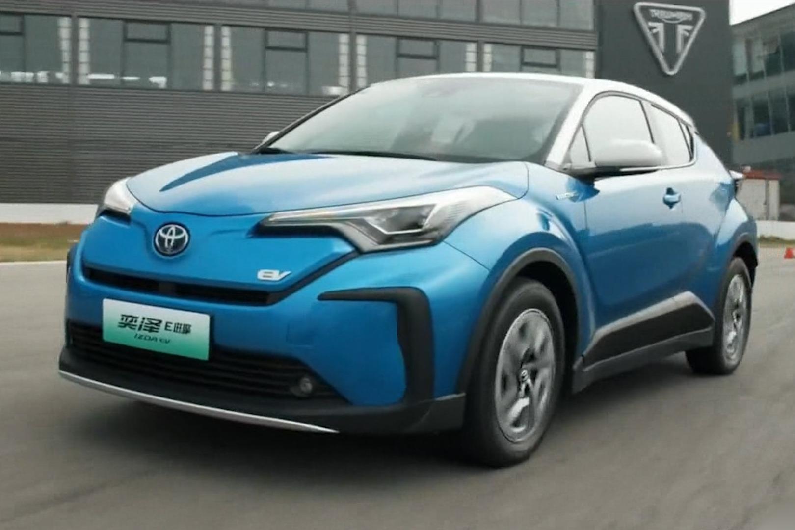 车问   丰田奕泽E进擎想要竞争最安全SUV?