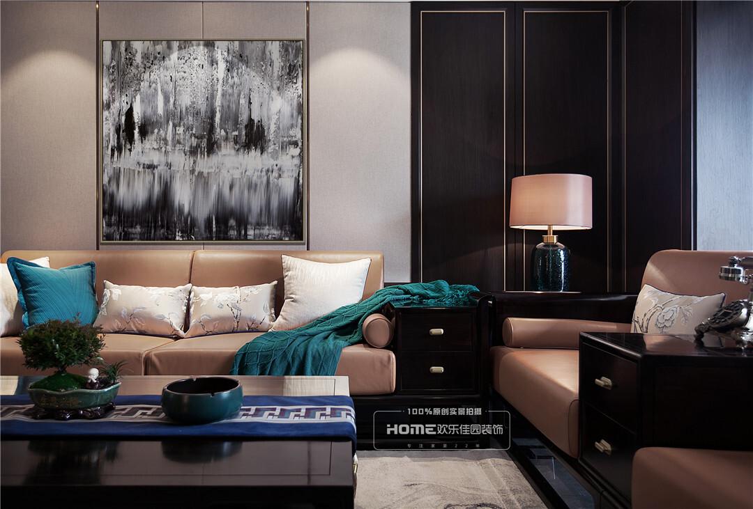 【昆明银海泊岸】165平新中式风格东方美感静谧空间