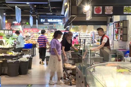 一季度张掖市社会消费品零售总额位列全省第二