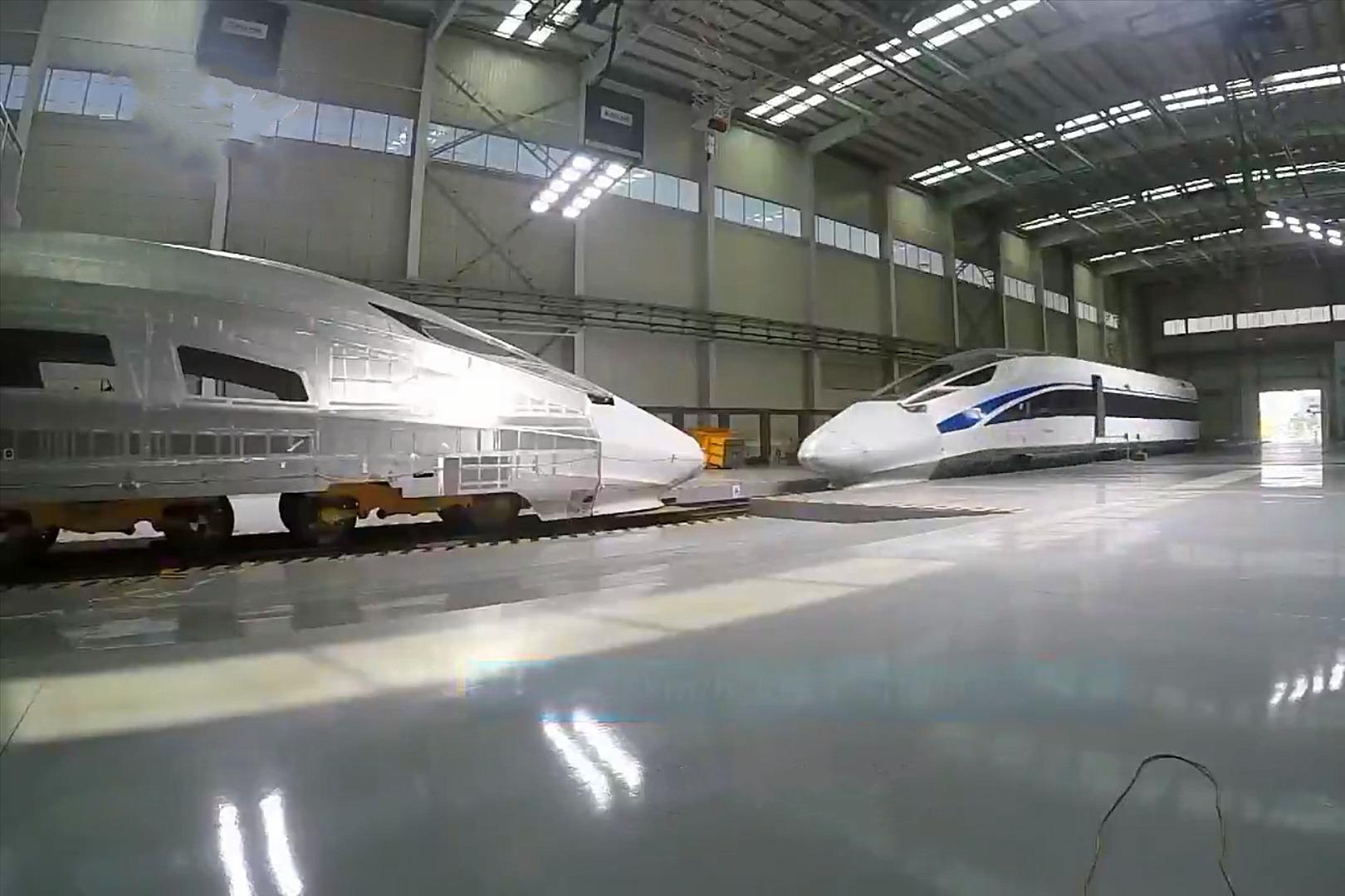 中国复兴号动车,完成76km/h实车对撞实验,远远超出国际标准要求