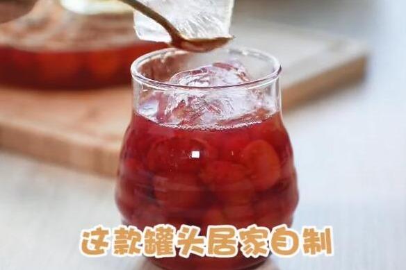 蜂蜜泡樱桃的方法,这样吃健康、美味、补Fe、减肥又祛火