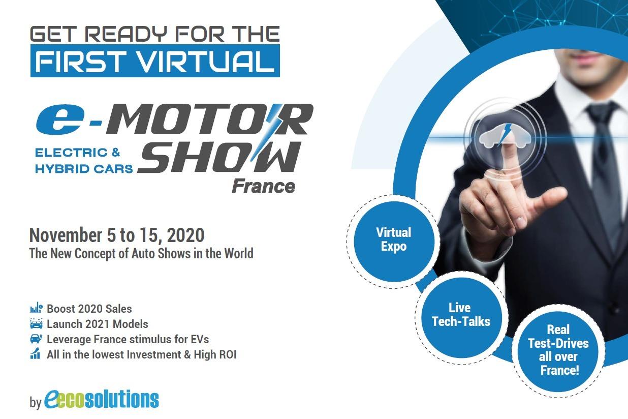 2020年法国线上新能源电动车展E-Motor Show