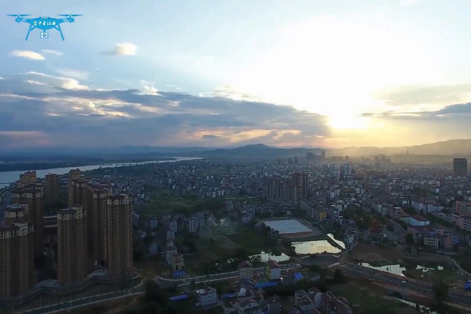 江西泰和县城面貌日新月异