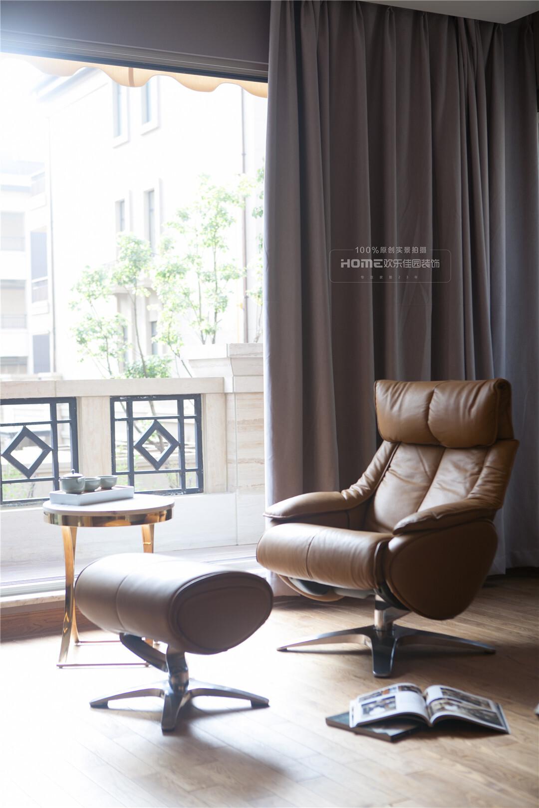 【海珀澜庭】轻奢中式460平米昆明豪宅装修实景欣赏