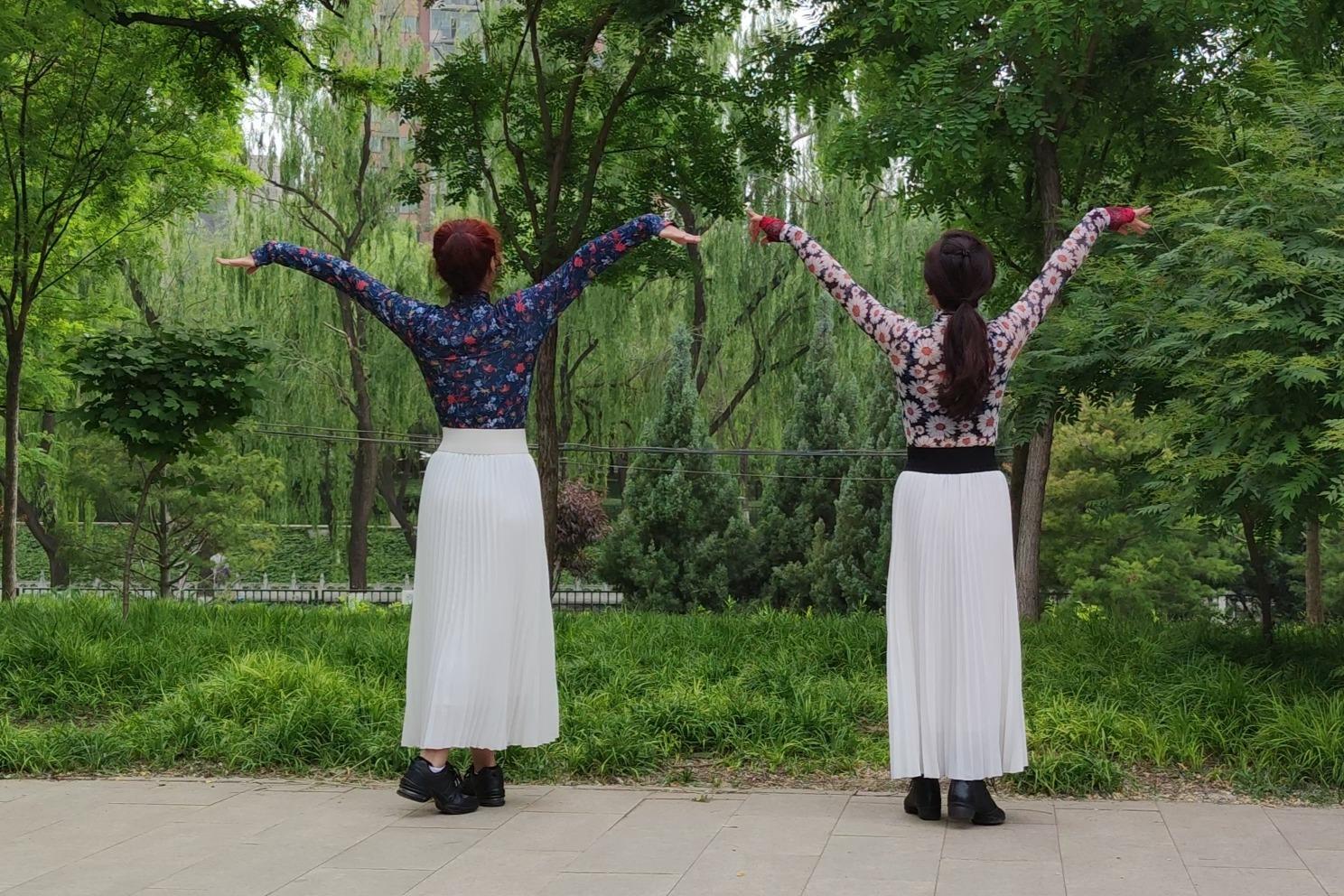 广场舞大妈