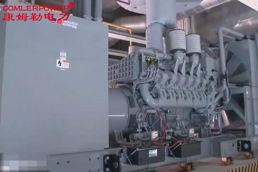 油田钻机用发电机组 MTU 发电机制造过程_MTU柴油发电机