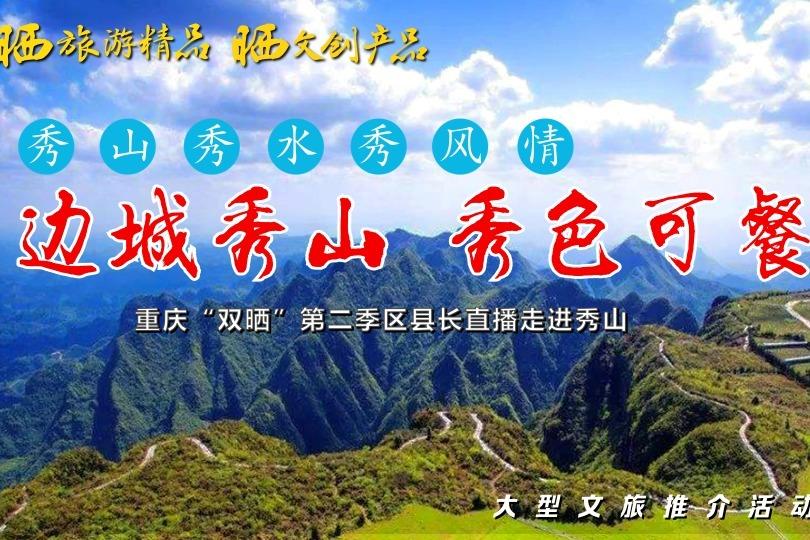 """视频丨重庆""""双晒""""第二季区县长直播走进秀山"""