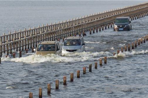 鄱阳湖中国最美水上公路再展丰采