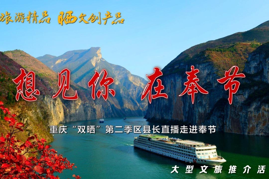 """视频丨重庆""""双晒""""第二季区县长直播走进奉节"""