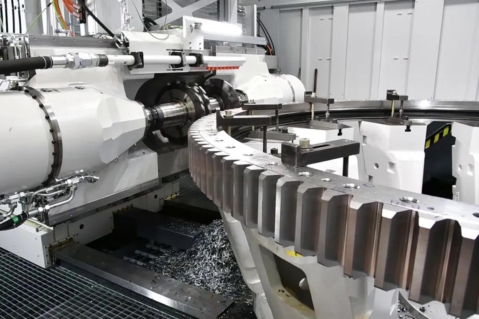 一场硬碰硬的较量,大型齿轮制造工艺,一个价值几十万