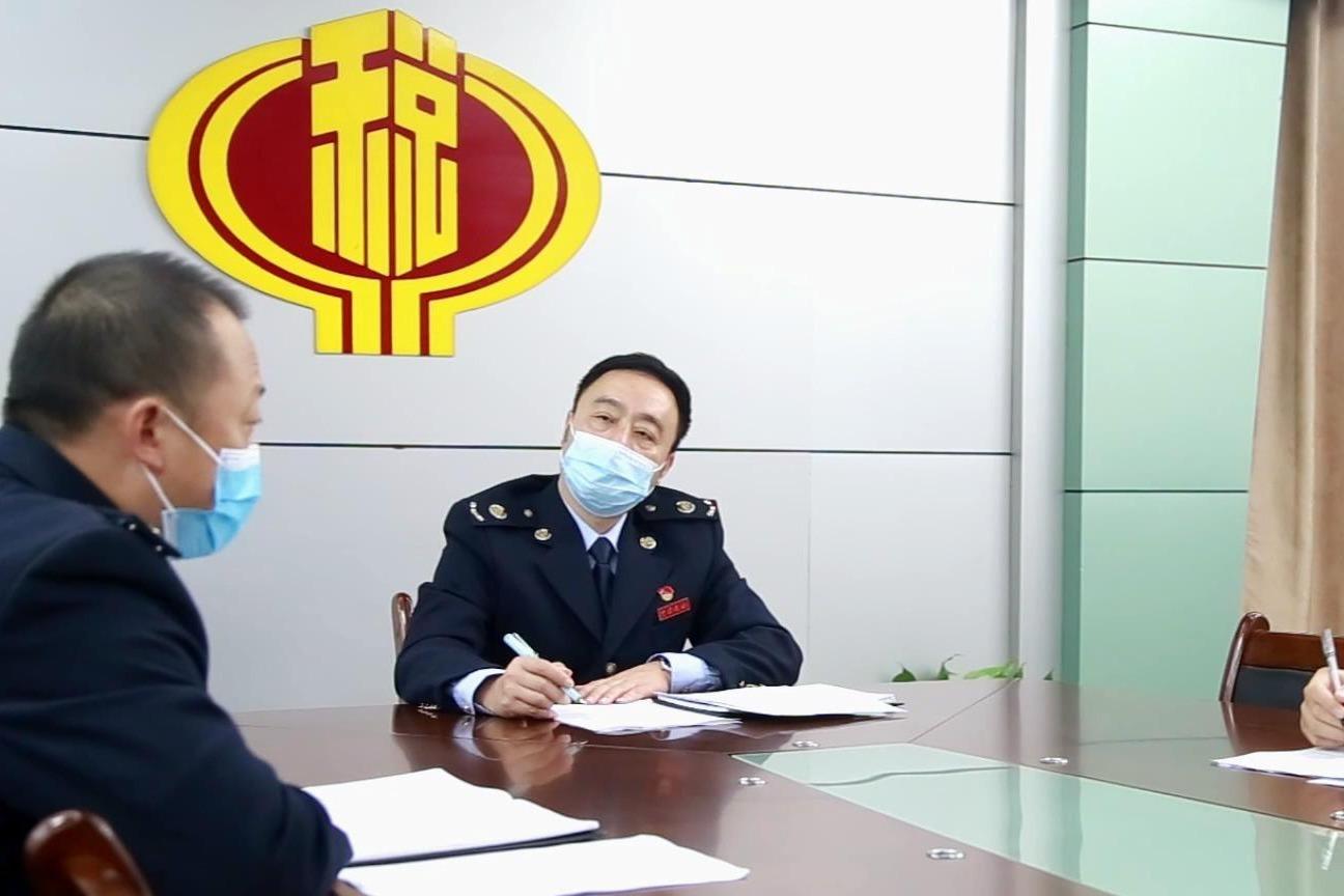 渝水区税务局微电影作品《云税情》