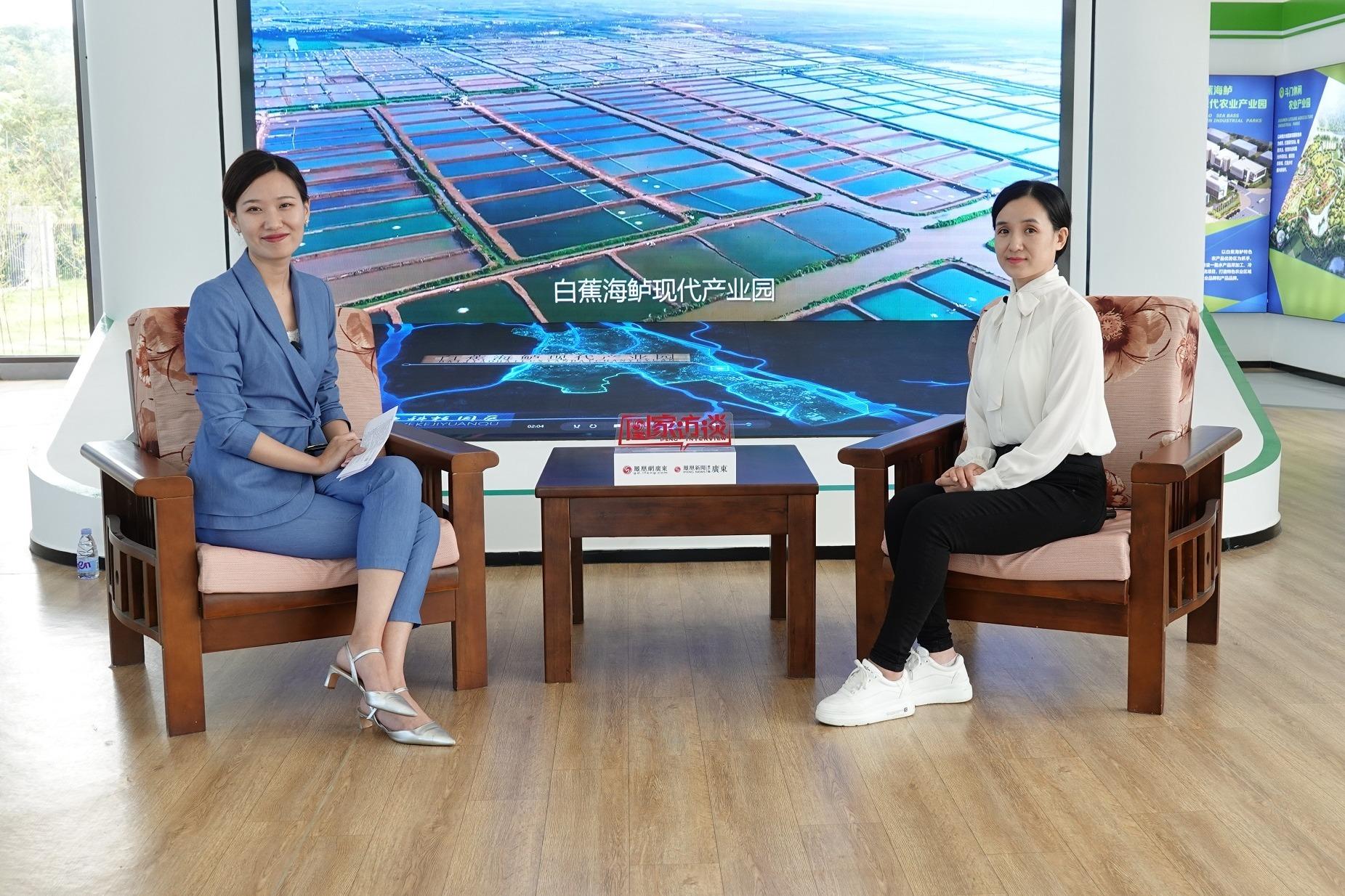 凰家访谈|石晓艳:加强科技创新 引领斗门农业高质量发展