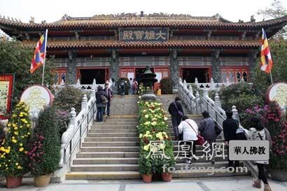 宝莲禅寺(图片来源:凤凰网佛教 摄影:丹珍旺姆)