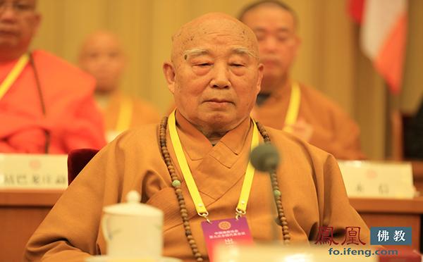 中国佛教协会名誉会长传印长老(图片来源:凤凰网佛教 摄影:李保华)