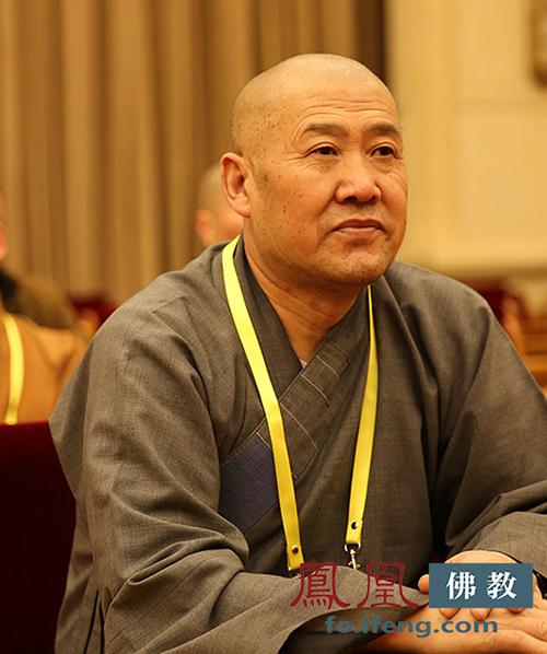 中国佛教协会副会长妙江法师(图片来源:凤凰网佛教)