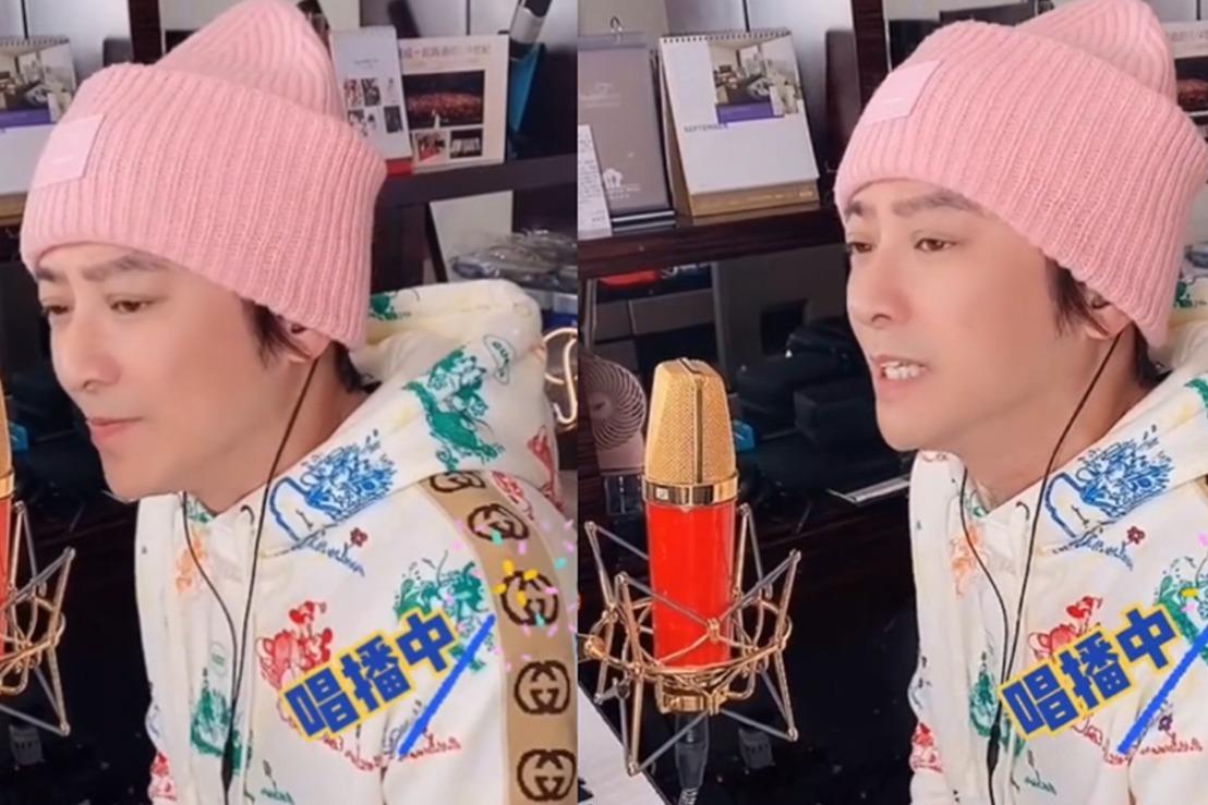48岁孙耀威深情演唱《一生中最爱》,帅气不减当年歌声超动听