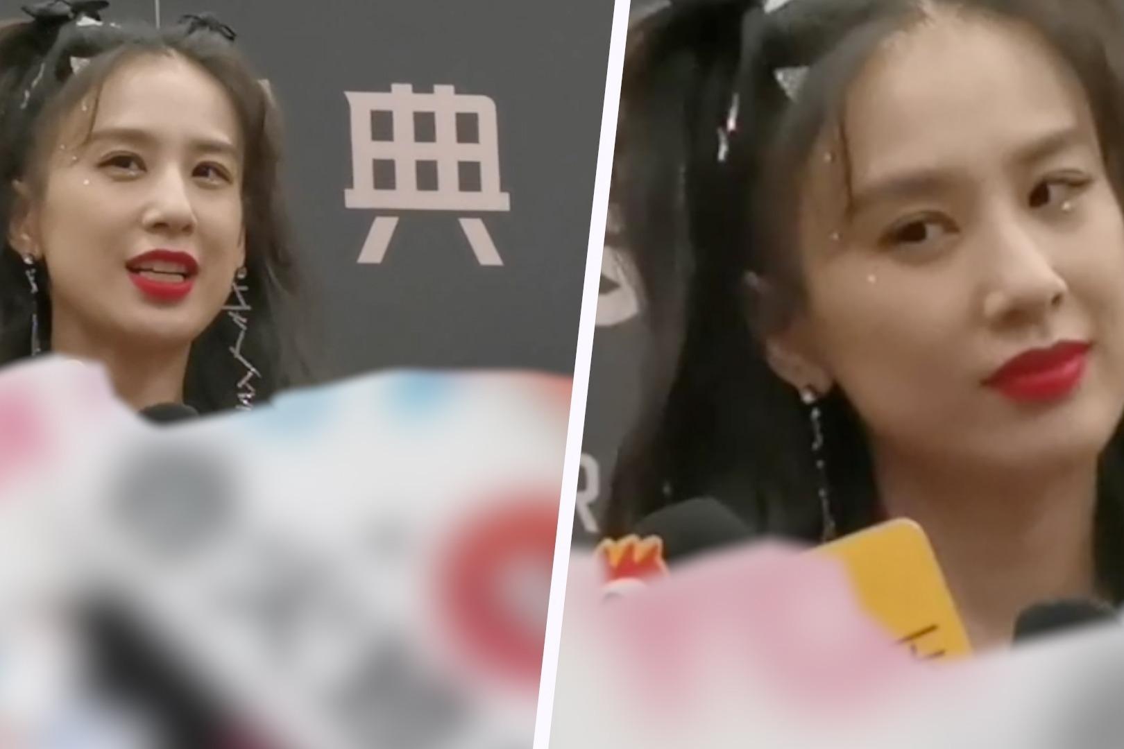 黄圣依接受采访谈《浪姐2》,透露这一届赛制会变化,表示很期待