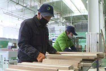"""首次出口越南 商投集团""""保税木""""拿下六千万元订单"""