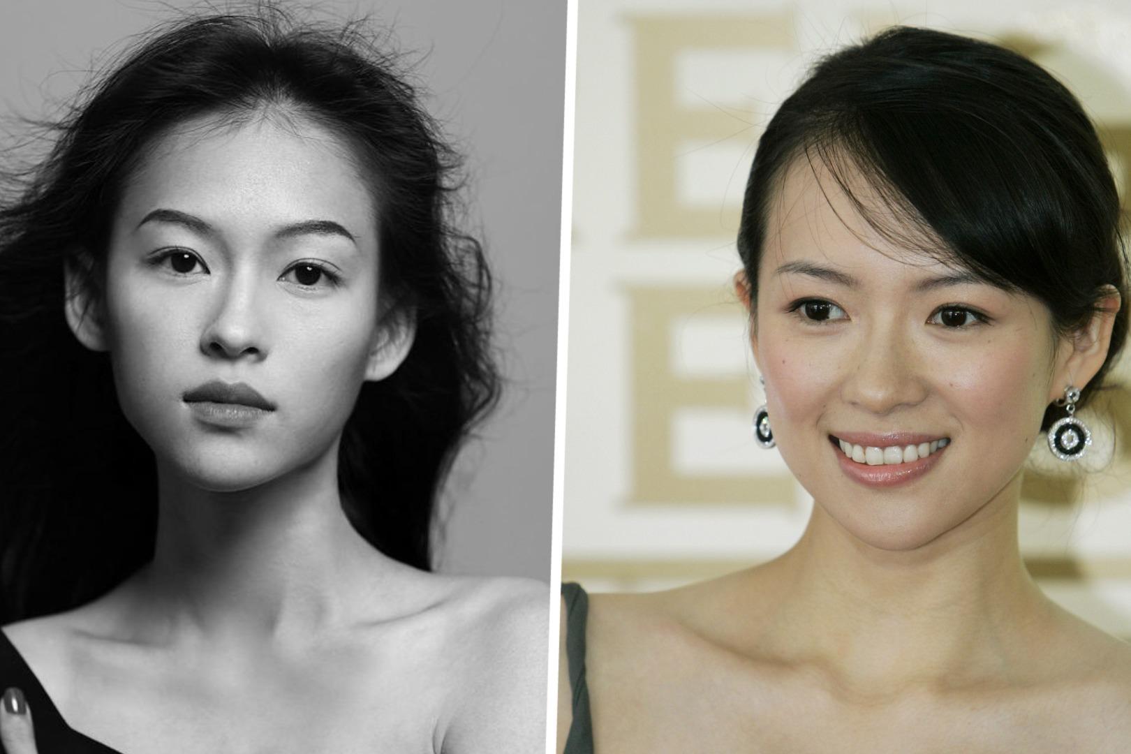 失散多年的姐妹?越南模特撞脸章子怡,清冷神态宛如复制粘贴