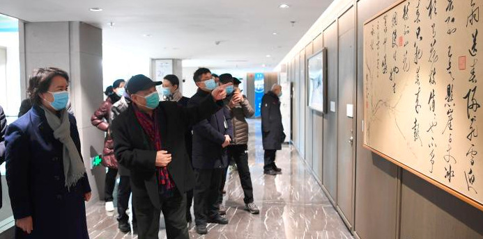 北京冬奥组委推出《冰雪礼赞》艺术作品展