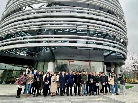 成都新经济应用场景沉浸式沙龙  走进上海张江人工智能岛