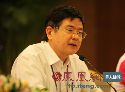 南京大学哲学系教授洪修平(图片来源:凤凰网佛教 摄影:李保华)