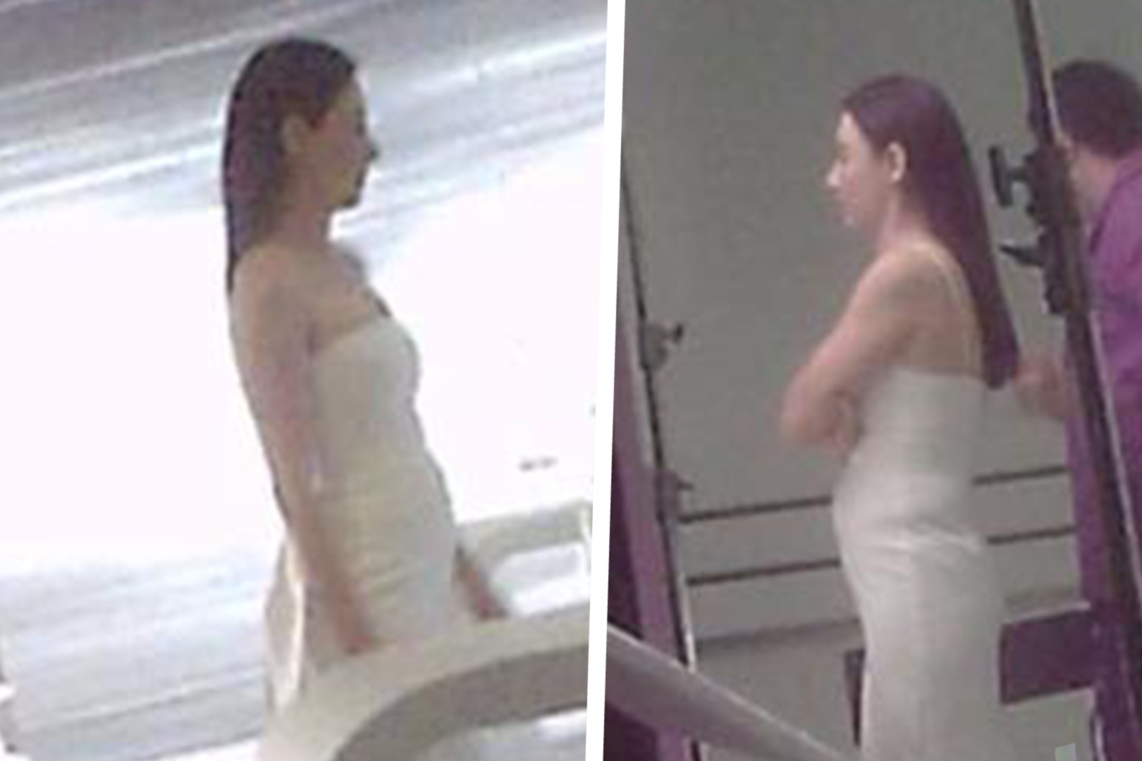 张柏芝被拍到小腹微凸,身穿白色紧身吊带裙,再陷怀孕争议