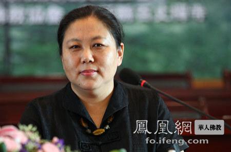 中国社会科学院世界宗教研究所研究员周齐(图片来源:凤凰网佛教 摄影:丹珍旺姆)
