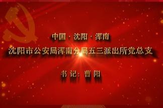 【视频】党,就在身边——沈阳市浑南分局五三派出所