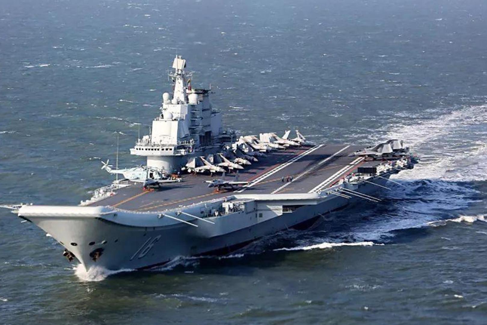 """官方罕见点出辽宁舰在""""台湾周边海域""""训练,释放出哪些讯息?"""