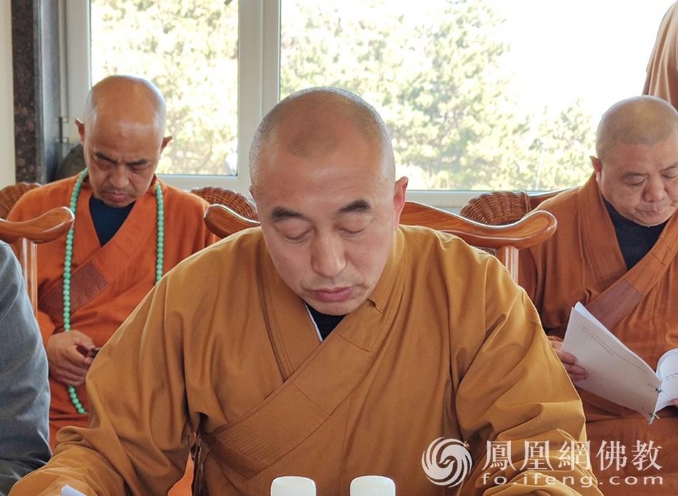 吉林省佛教协会副会长正福法师(图片来源:凤凰网佛教 摄影:吉林省佛教协会)